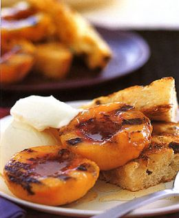 Grilled Peaches for Salad and Salsa