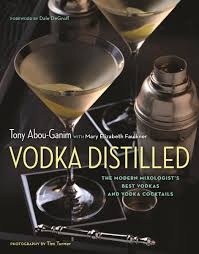 Cookbook Review: Vodka Distilled by Tony Abou-Garmin + The Sgroppino [vokda + limoncello + prosecco + serbert!]