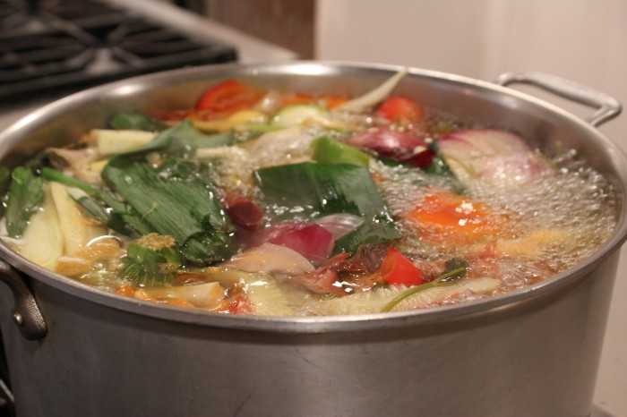 Making, not Taking, Stock: Homemade Stock for Risotto, Soup, Gravy and More