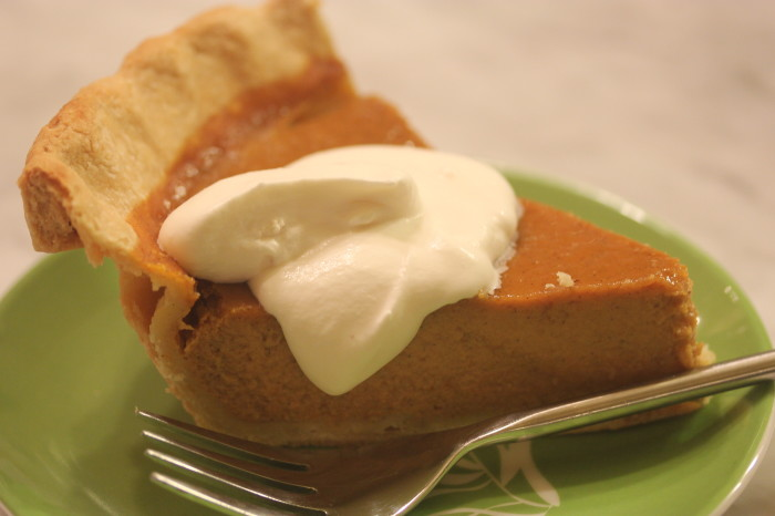 Jamaican-Spiced Pumpkin Pie: Mixing Pumpkin and Coconut
