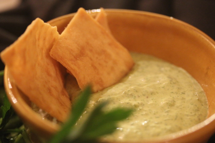 Green Goddess Dressing and Dip