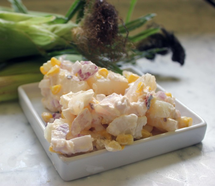 Brian's Very Simple Potato and Corn Salad
