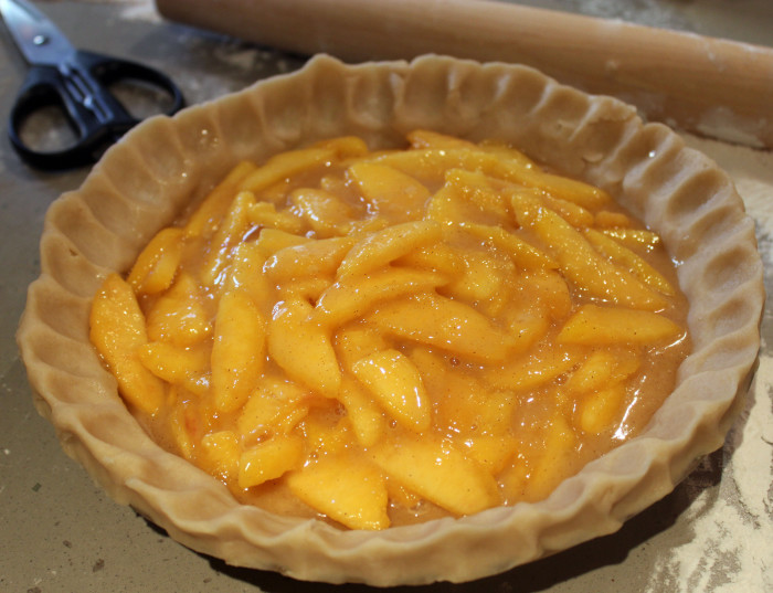 Perfect Peach Pie Filling