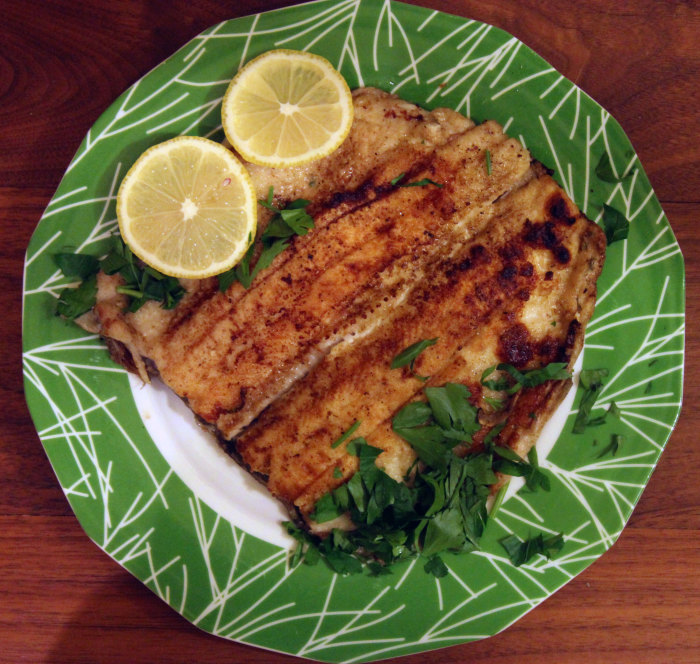 Pan Fried Trout: Simple, Delicious and Even Elegant