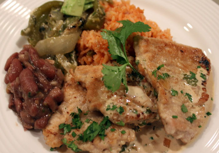 Super Bowl Feast 2015: Turkey Medallions and Drunken Red Beans and New Mexican Rice
