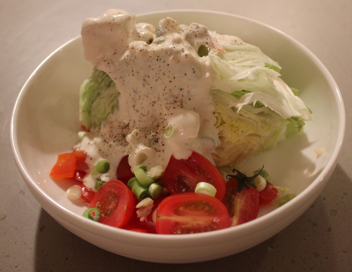 Blue Cheese [and Buttermilk] Salad Dressing from Alton Brown