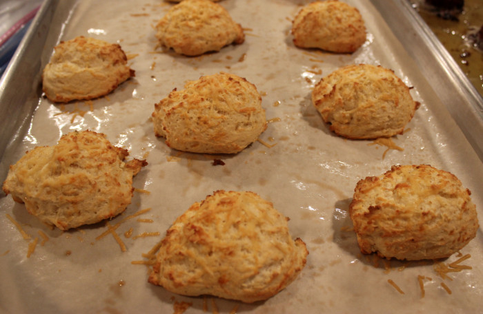 Cheese Biscuits with Aromatic Bay Leaves from The Philosopher's Kitchen