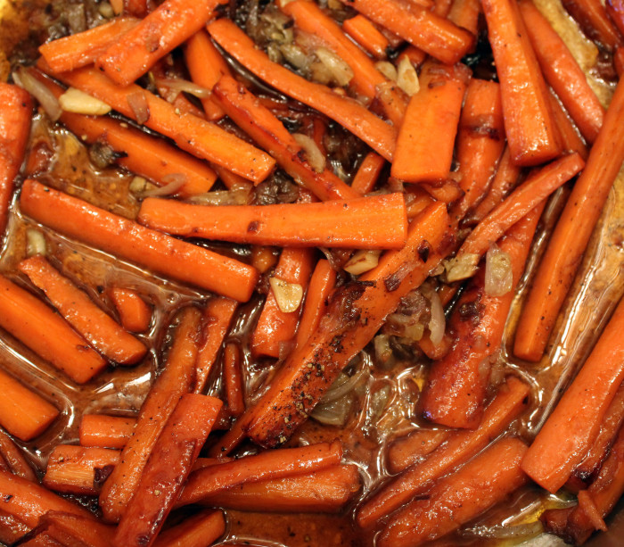Perfect Easter Side Dish: Bourbon-Ginger Glazed Carrots from Edward Lee