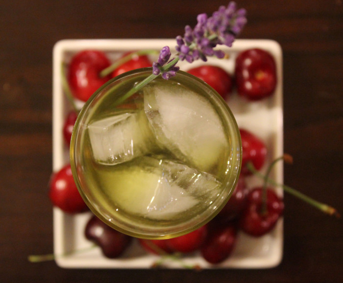 The Lullaby: A Cocktail with Maker's Mark 46 and Lavender Syrup