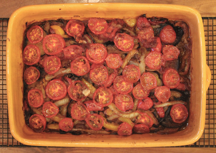 Greek Vegetable Bake from The Islands of Greece by Rebecca Seal