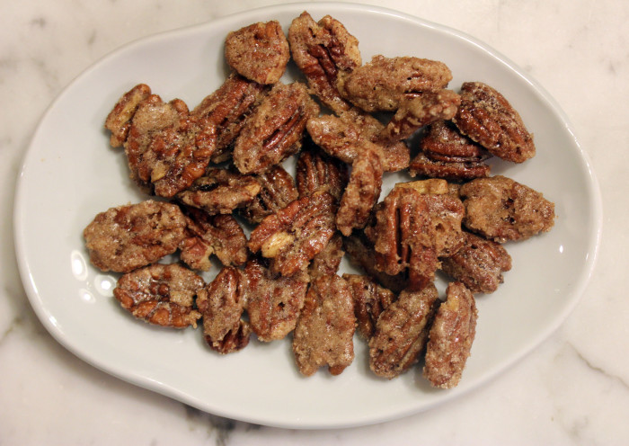 Candied Pecans from Nuts by Patrick Evans-Hylton