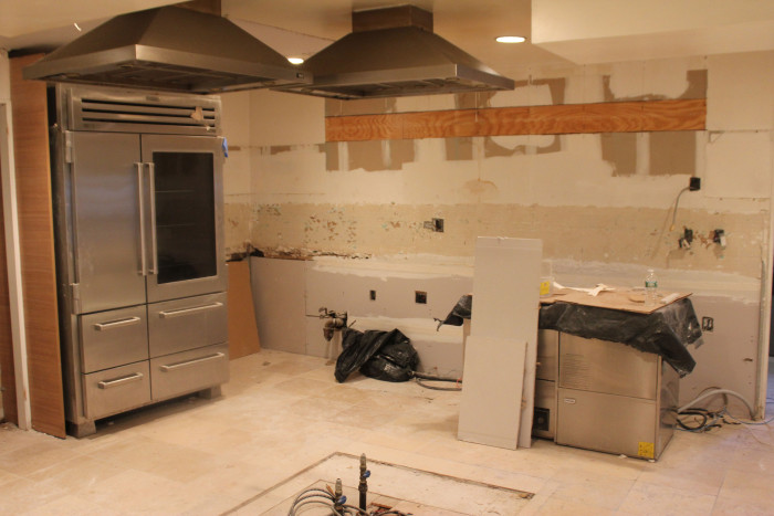 This Top Photo Shows The State Of The CBTB Kitchen Right Now At The End Of  Day 3. How Did The Kitchen Look When It All Began On Monday Morning?