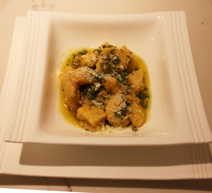 Sweet Potato Gnocchi with Sage Butter