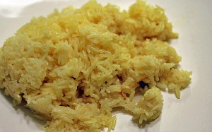 fixed coconut rice