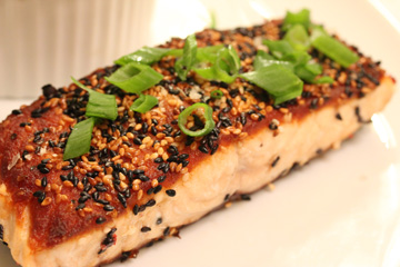 Grilled sesame salmon from salted cooking by the book for Mark bitterman craft salts