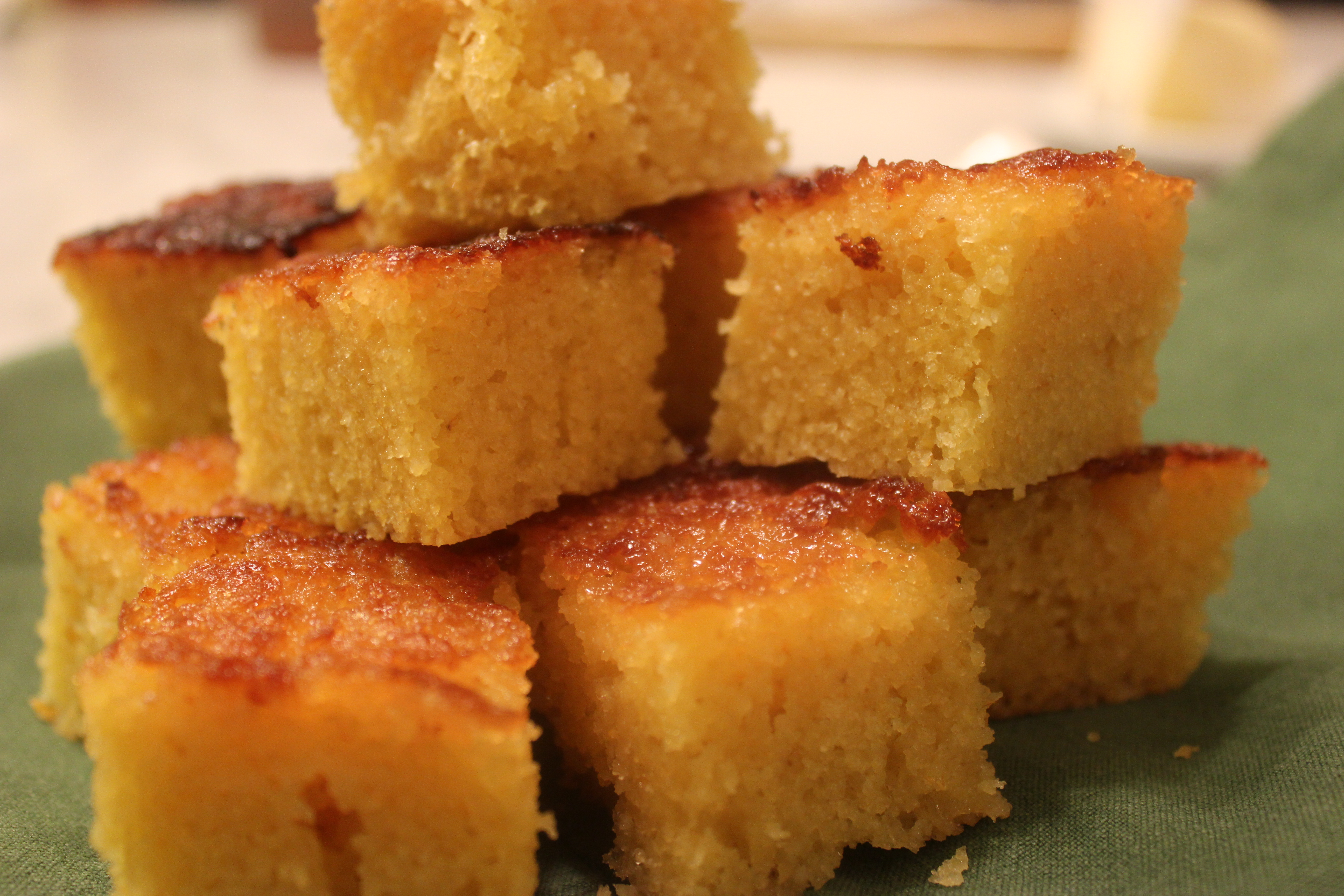 Honey-Glazed Spago Corn Bread from Dessert by the Yard | Cooking by ...