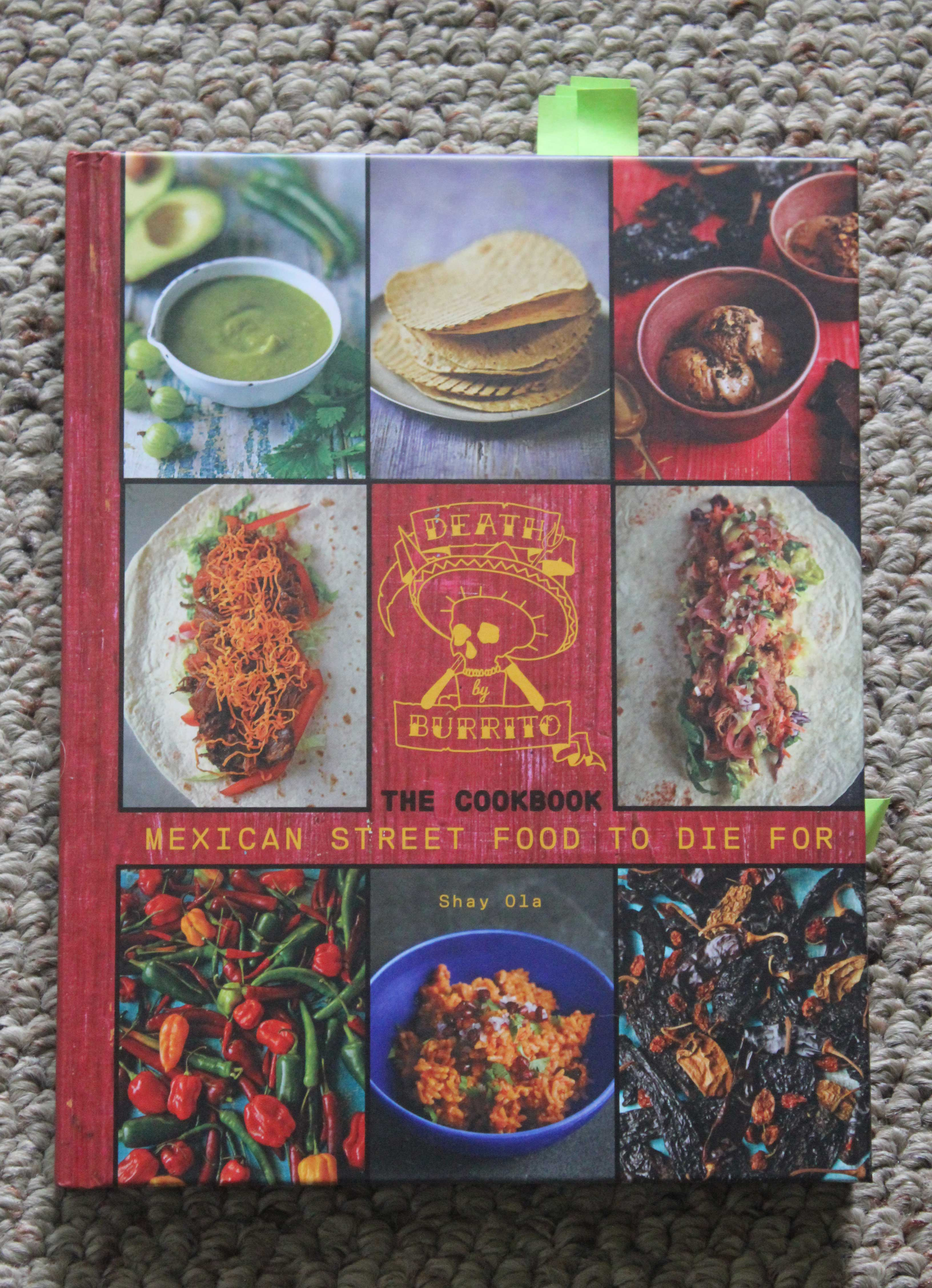 Fiery Cookbook Review: Death by Burrito