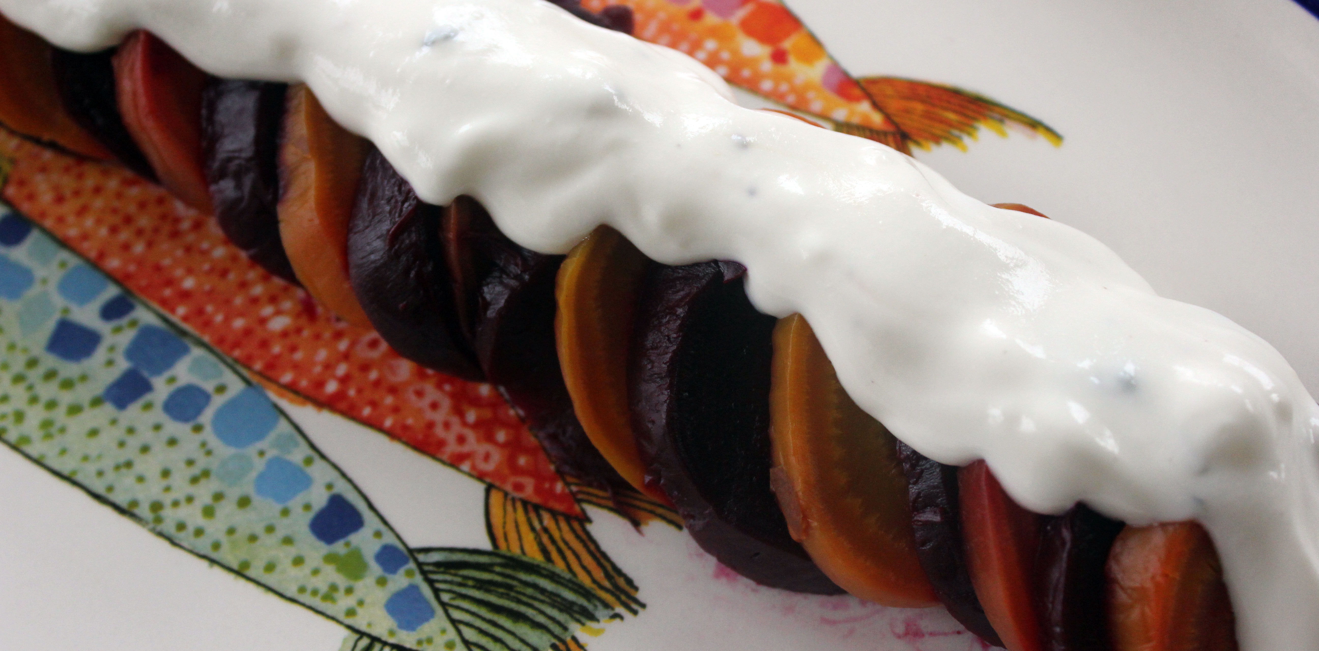TBT Recipe: Smoked Beets with Charred Pecans and Buttermilk-Goat Cheese Crema