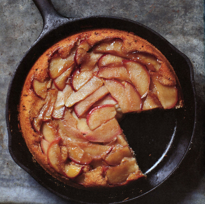 Cast-Iron Apple Cake with Maple Brown Butter from ...