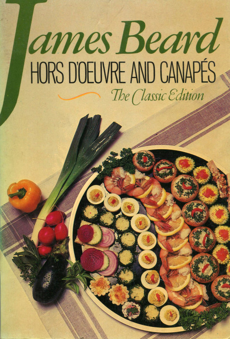 Canape Cookbook Of Tbt Cookbook Review Hors D 39 Oeuvre And Canap S By James