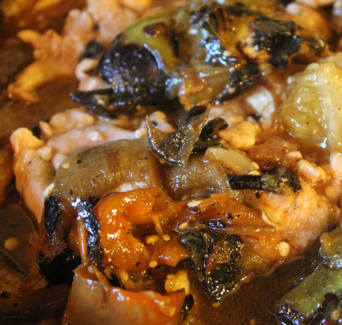 Braised Chicken with Tomatillos and Jalapenos - Cooking by ...