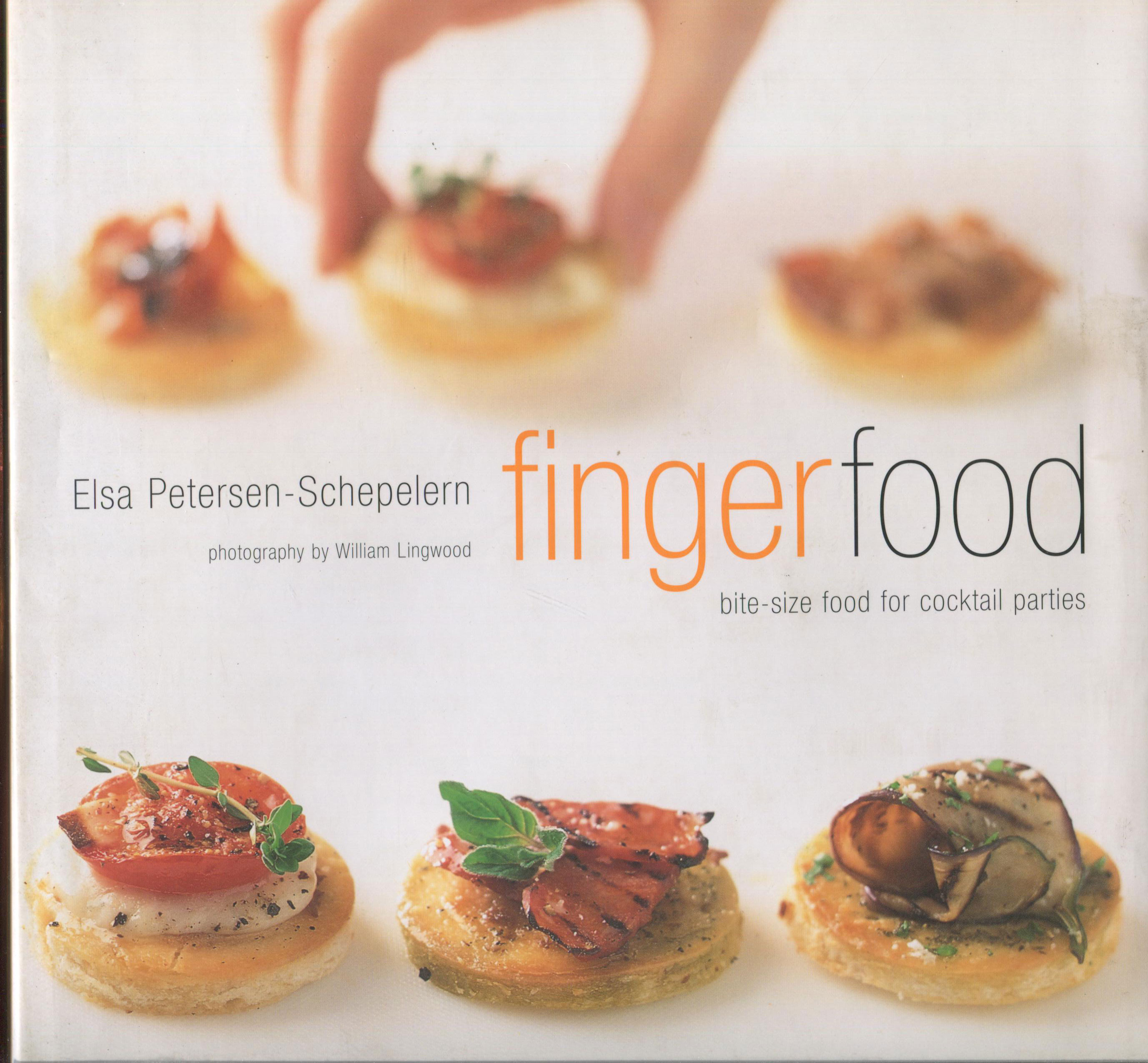 Cookbook Review: Fingerfood by Elsa Petersen-Schepelern