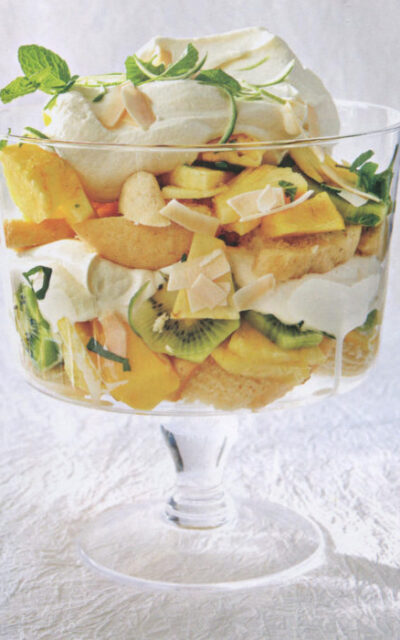 Tropical Cupcake Trifle from The Sprinkles Baking Book