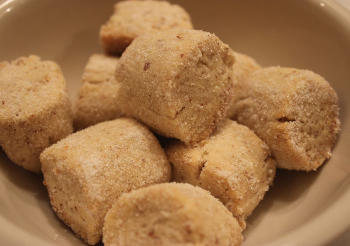 Hazelnut-Vanilla Cookies from Gâteaux by Christophe Felder and Camille Lesecq