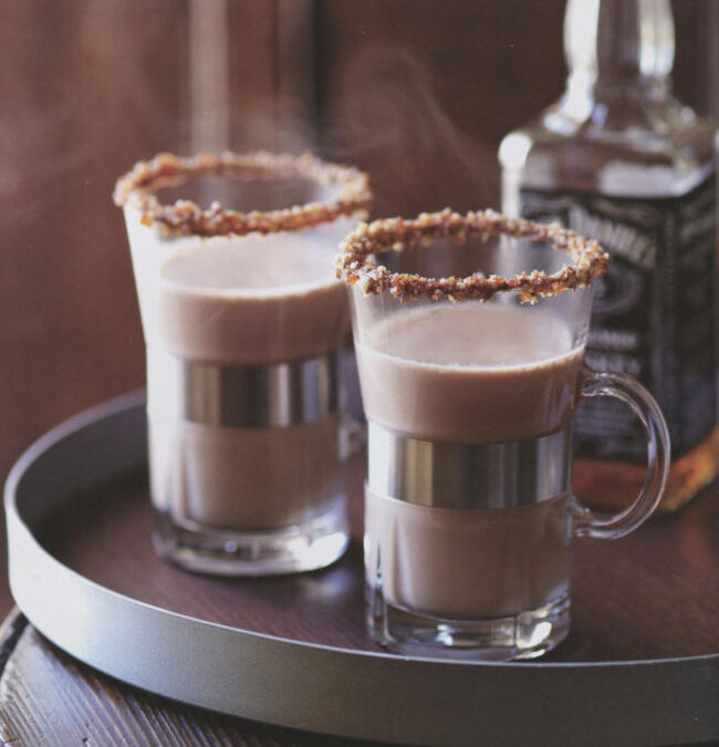 Maple Pecan Bourbon Hot Chocolate from Hot Chocolate by Hannah Miles