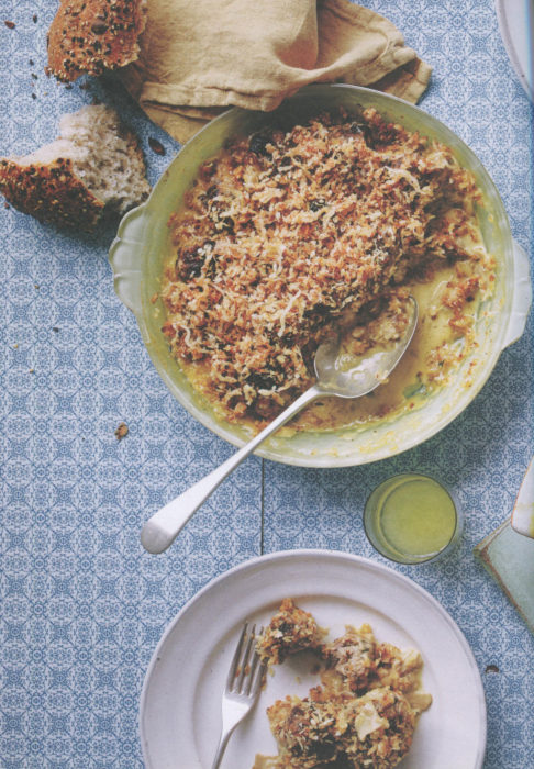 wc-Pork-and-Prune-Meatballs,-Mushroom-Gravy-and-Parmesan-Crumble