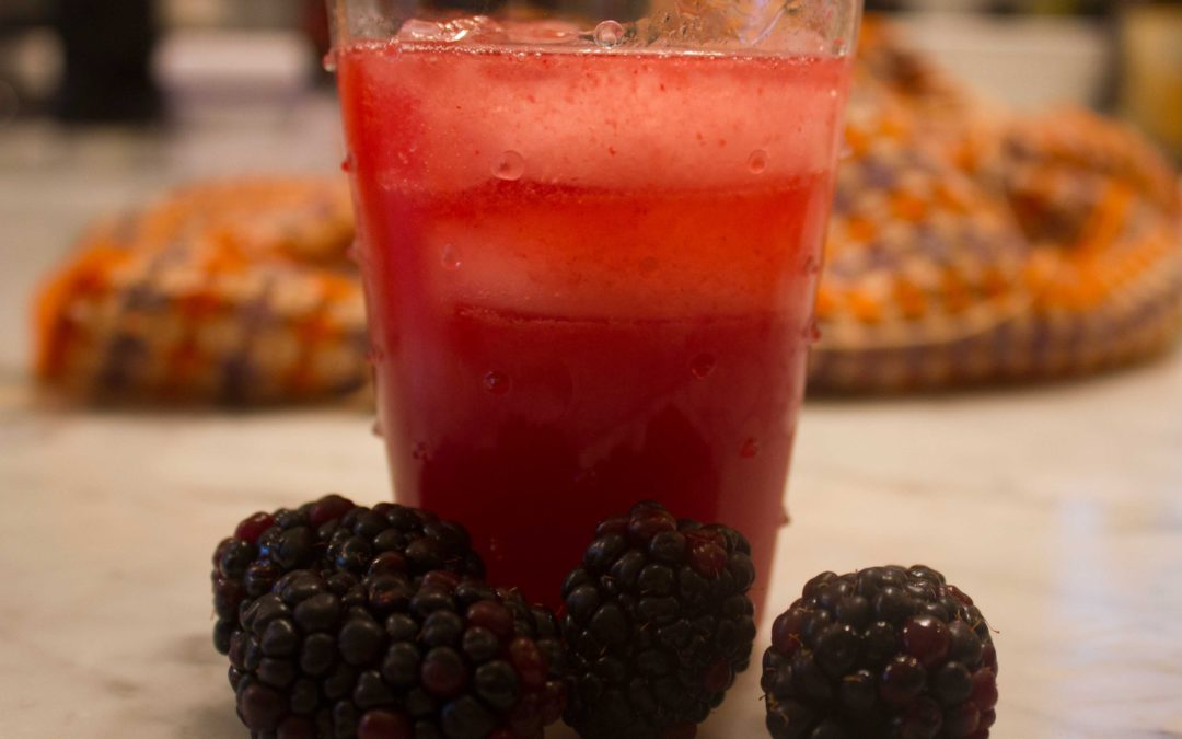 Blackberry Martini from Wild Cocktails by Lottie Muir