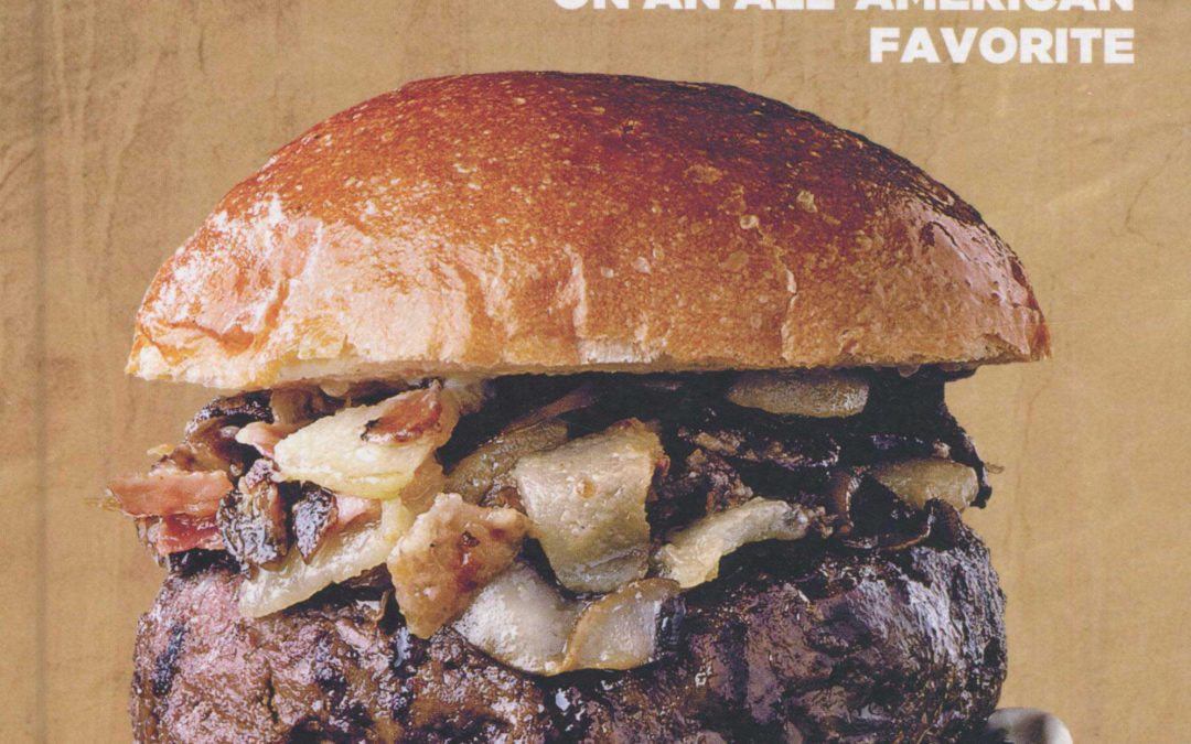 Cookbook Review: Artisanal Burgers, 50 Italian Twists on an All-American Favorite