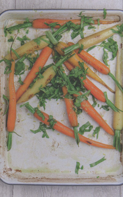 Braised Carrots with Lemon, Cilantro, and Chili from Simple Nature by Alain Ducasse