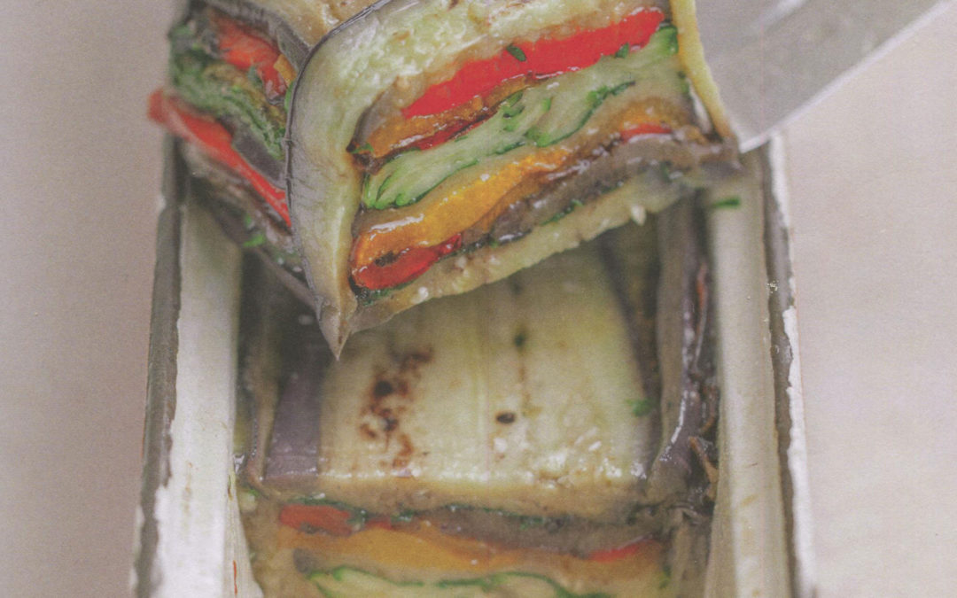 Grilled Vegetable Terrine from Simple Nature by Alain Ducasse