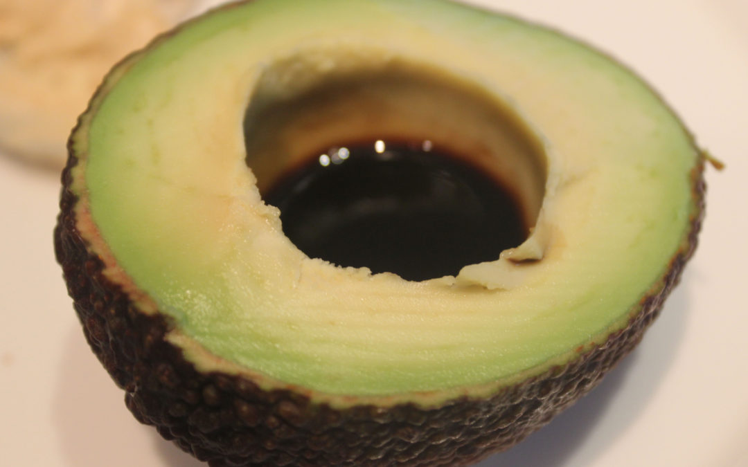 Avocado with Balsamic Vinegar: Simple and Perfect